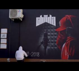 Chada - mural ku pamięci Tomka